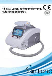 ND Yag Laser Tattooentfernung Multifunktionsgerät 2000mJ 1-10Hz
