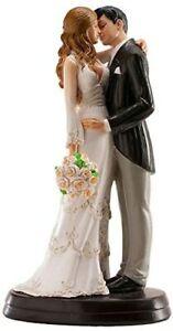 Wedding Cake Topper Bride and Groom Novelty Figurine Mr & Mrs Decoration