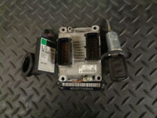 2001 VAUXHALL CORSA 1.2I 16V 3DR ECU LOCKSET 0261206074
