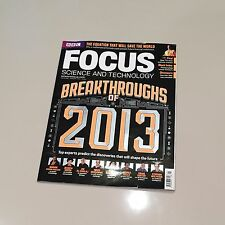 BBC Focus Magazine Science & Tech Issue 250 January 2013 Breakthroughs Of 2013