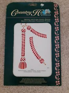 G8085 COUNTRY HOUSE ROPES AND TASSELS  STENCIL KIT