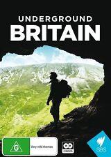 Underground Britain (DVD, 2015, 2-Disc Set) New  Region Free