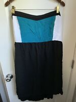 TORRID Babydoll Maxi Empire Tube Dress Swim Coverup top shirt 4 3 Black Teal XXL