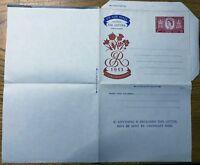 GB - 1953 6d CORONATION Air Letter - Mint / Folded