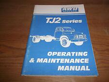 AWD Bedford. TJ2 Series. Operating & Maintenance Manual. 1991. Truck