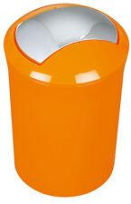 Spirella Sydney Orange Abfalleimer Mülleimer Eimer 5 Liter Swiss Design