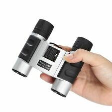UK FELiCON 30X22 Pocket Zoom Lens Foldable BaK4 Binoculars Telescope Outdoor