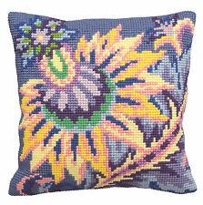 Collection D'Art Cross Stitch Cushion Kit: Joy CD5134