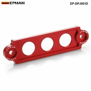 Red EPMAN RACING Battery Tie Down Jdm For  Honda Civic/CRX 88-00 Integra S2000
