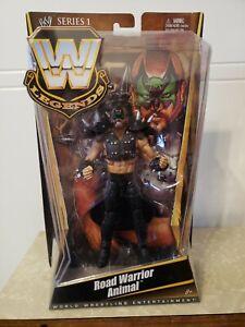 WWE Mattel Elite Legends Series 1 Road Warrior Animal 2010 Sealed MOC LOD