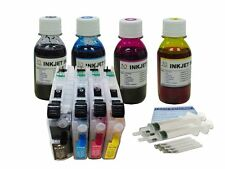 Refillable cartridge 4 Brother LC103 LC101 LC135 137  LC105 LC107 +400ml ink kit
