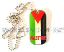 Palestine National Flag Tag/Necklace-Unisex necklace.Almost sold out. Great Gift
