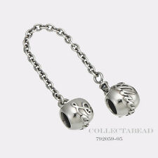 Authentic Pandora Sterling Silver Love Always Safety Chain 792059-05