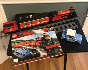 LEGO Harry Potter 4841 Hogwarts Express 99.5% Complete Minifigures included