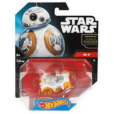 MATTEL Hot Wheels Star Wars 1:64 SCALA DIECAST bb-8 Droid Personaggio auto (cgw51)