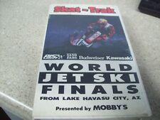 1989 Skat-Trac World Jet ski Finals VHS Tape