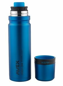 AVEX 3SIXTY POUR 24 OZ 16 HOURS HOT 30 HOURS COLD STAINLESS STEEL THERMAL BOTTLE