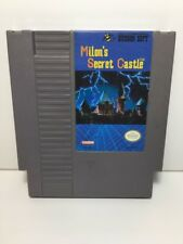 MILON'S SECRET CASTLE --- NES Nintendo Original Game CLEAN TESTED GUARANTEED