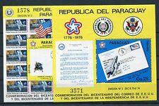 Paraguay Block 279/80 postfrisch / Weltraum ..............................1/1950