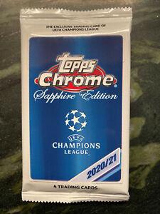 2020-21 Topps Chrome UEFA Champions League - Sapphire Edition - Pick / Choice