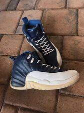 Men's Nike Air Jordan 12 Obsidian Blue White Sz 7.5 No Box Space Jam Taxi 1