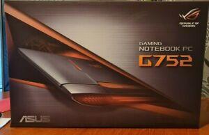 """Asus ROG G752VT 17"""" Gaming Laptop"""