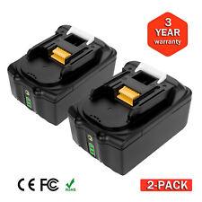 2PCS 5.0Ah 18V Lithium Ion Battery for Makita BL1830 BL1815 BL1860 BL1840 LXT400