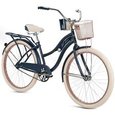 Huffy Nel Lusso 26 inch Women's Beach Cruiser Bike - Blue