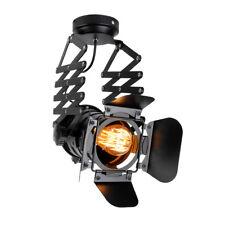 Ceiling Spotlight Track Retractable Pendant Light Loft Industrial Retro LED Lamp