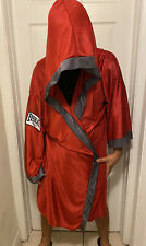 Everlast Boxing Robe Red Size Medium
