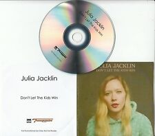 JULIA JACKLIN Don't Let The Kids Win 2016 UK 1-track promo test CD