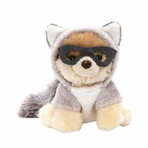 "Gund Itty Bitty Boo Stuffed Raccoon Plush Stuffed Dog 5"" New Free Shipping"