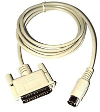 Cable Apple IIc modem new DIN5 D-SUB 25 //c