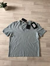 PRADA T-shirt da uomo PRADA Vneck muscolare Top XL £ 180 BABY BLU NUOVO