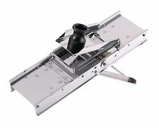 Bron Coucke Professional French Mandoline Slicer, Stainless Steel, 3 Blades