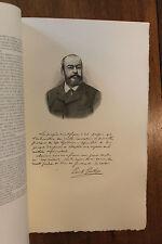 Emile Gautier anarchiste Figures Contemporaines Mariani Biographie 1904 1/150 ex