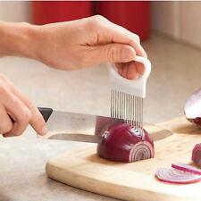 ChefAid Onion Holder Easy Cut & Slice Hand Held Tomato Potato Veg Kitchen Slicer