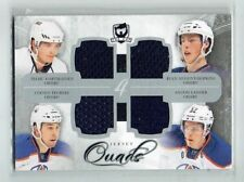 11-12 UD The Cup Quads   T Hartikainen-R Nugent-Hopkins-C Teubert-A Lander  /10