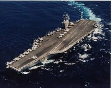 USS EISENHOWER 8X10 PHOTO CVN-69 NAVY US USA MILITARY NUCLEAR AIRCRAFT CARRIER