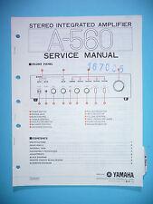 Service Manual-Anleitung für Yamaha A-560,ORIGINAL