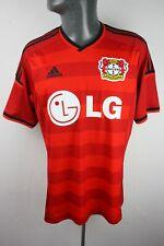 Bayer 04 Leverkusen 2014 2015 Home Adidas Football Shirt Trikot Mens Medium F621