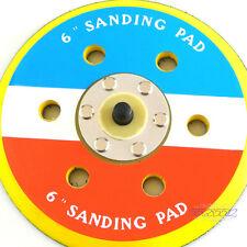 "New 6"" Inch Sanding Pad Dual Action Sander Grinder 16x24 Thread 12000"