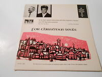 PAUL ANKA SHOW,GLEN GRAY SHOW  CHRISTMAS SEALS  1963 VINYL LP Vg+++ ,promo