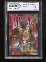 Kobe Bryant RC 1996-97 Skybox Z-Force #266 Lakers Rookie GEM Elite 10 Pristine