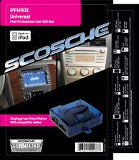 Scosche IPFMRDS iPod FM Modulator with RDS Text Add iPod to Factory Radio
