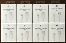 Lot of 8 Apple USB Lightning Cable 2m-6ft OEM New With Original Box!!!!