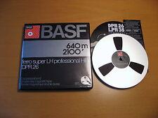 1 x BASF Tonband DPR 26 FE SUPER LH P HiFi, 18cm ALU-Spule, neuw. in OVP ! Tape