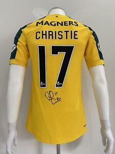 Celtic Match Worn Player Issue Shirt