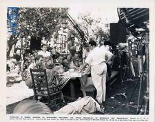 George Cukor Katharine Hepburn candid on set VINTAGE Photo Sylvia Scarlett