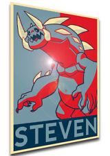 Poster Propaganda - Steven Universe - Monster Steven - LL0188
